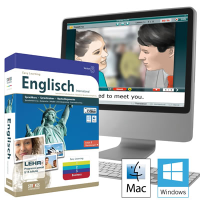 Easy Learning 6 Language Software from Strokes International